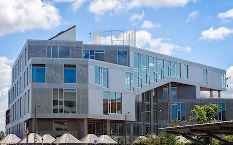 Project Sydhavnen – school, bij Kopenhagen met Rockpanel Colours